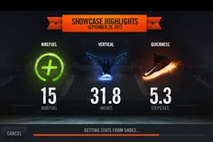 Nike+ Basketball #infographic #bold #chart
