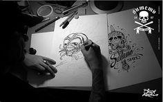 PocketFilme PocketFilme - Make Ups : Tutorials : How to : Tips : Fashion : Girly Things: Fotografa!!! #argel #drawing #skulls #billy