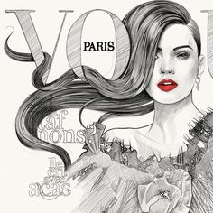 Mustafa Soydan - Fashion Illustrations #fashion #mustafa #illustrations #soydan