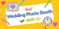 wedding photo booth ideas bay area