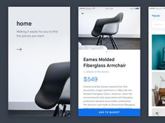 Furniture App Exploration by Oliur