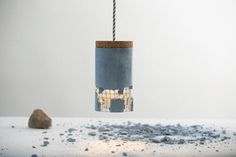 The Slash Lamp is a #fun lamp #design where you break the #lamp to get the light