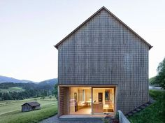 Julia and Björn House by Architekten Innauer Matt
