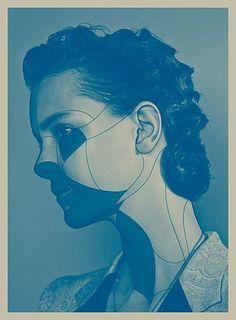 M O O D #woman #lin #m #haw #mood #blue #o #d