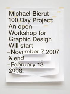 DANIELLA SPINAT #design #graphic #poster #type #helvetica