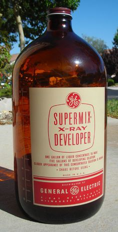 GE Supermix X Ray Developer, 1956 | Flickr Photo Sharing! #packaging #retro #vintage #erau #ge