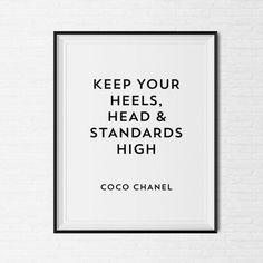 Coco Chanel Modo #modo #font #black #tag #chanel #poster