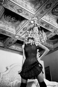 Black and White Fashion Photography by Gennadiy Chernomashintsev