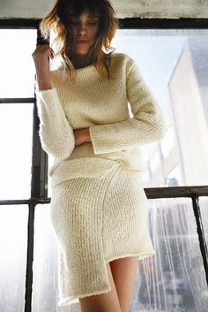 Kahle Square Fold-Over Skirt
