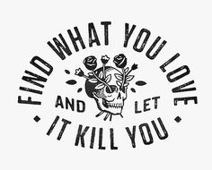 #typography #skull