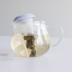 Tea Cone Infuser This Tea Cone Infuser mixes design and functionality for a better tea-making experience! Its cone-shaped design allows you to steep tea efficiently all while preventing drips and spills.