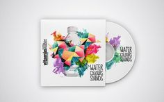 Vitamin Waters on the Behance Network #music #album #color #vitamin water