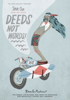 Deus Customs #deus #poster