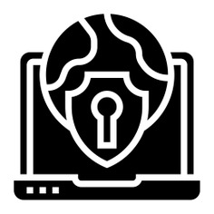 See more icon inspiration related to lock, safe, electronics, safety, protection, networking, security, world, laptop, globe, technology and computer on Flaticon.