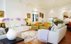 Colourful living room #interiordesign, #livingroom