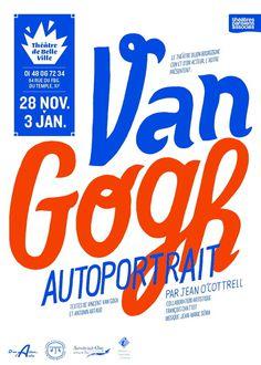 Van Gogh #design #poster #typography