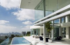 The Essence of Modern Living above LA: Luxury Mansion in Hollywood #interior #design #space #architecture #room