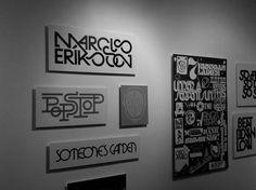 Marcus Eriksson / Subdisc.com #print #art #typography