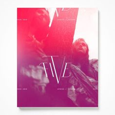 Ian Walsh Design #burn #magenta #color #photography #colors #poster #typography