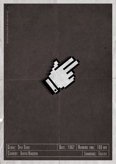 H-and Movie #spy #movie #and #design #my #is #gerald #name #vintage #poster #web #bear #hand