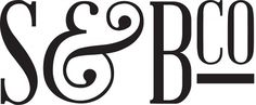 Initial Logo_905.jpg 800×330 pixels #ampersand #illustration #carr #benjamin