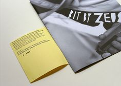 BIT BY ZEUS ~ #publication #zine