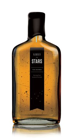 constellation #packaging #bottle #constellation #stars #glass