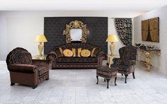 Upholstered lounge suite art of beauty by Finkeldei - www.homeworlddesign.com (7) #inspiration #lounge #homedecor #homedesign
