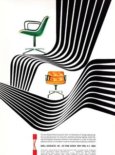 All sizes | 1966 Knoll Ad | Flickr - Photo Sharing! #1966 #ad #knoll