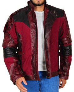 Star Lord Cosplay Leather Jacket (3)