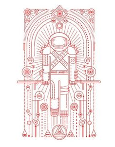 FFFFOUND! | Mingo Lamberti #illustration