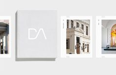 DA Architects Daniel Siim #design #graphic #identity #logo #editorial