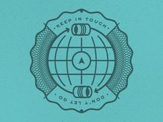 Dribbble - To Resolve : Keep in Touch by Scott Hill #logo #branding