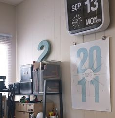 twenty eleven 2011 calendar by themuststashstore on Etsy #2011 #print #design #graphic #calendar #eleven #twenty #poster