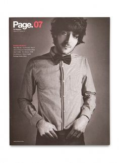 Face. Works. / Page. The Magazine. #cover #print #magazine