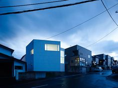 Northern Nautilus House is a minimalist house located in Hokkaido, Japan, designed by Takato Tamagami. The client is for a young couple, and