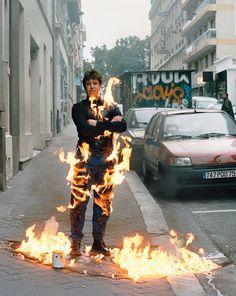 Adel Abdessemed Je suis innocent, 2012Digital C print90 #photo #fire