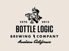 Bottle Logic Abandoned Logo Concept – Eve