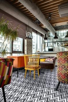 Hisbalit Presents Twenty Geometric Designs Created with Eco-Friendly Mosaic Tiles