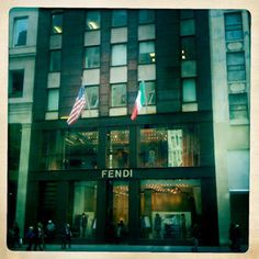 NYC baby! | A SWEET SPIRIT #store #shop #fendi #building