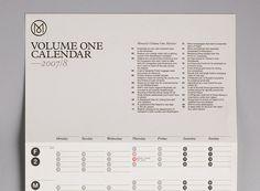 Modern Publicity #calendar #grid #2007 #2008 #monocle