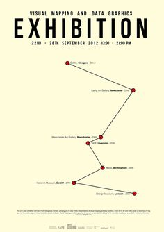 Data Mapping #exhibition #data #poster