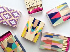 BelloPop makes decorative matchboxes