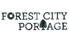 Forest City Portage - Emily Good #type #handwritten #logo