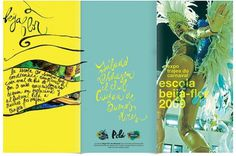 Beija Flor Exhibition - Poster & Flyer on the Behance Network
