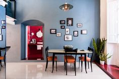Cobalt Apartment by Mauro and Matteo Soddu / Italy