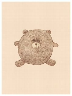 Char Lee | Illustration #tender #illustration #hairy #bear #charlee