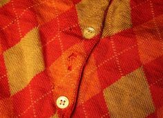 Jill's Moth Saga: Freezing Out Unwelcome Guests, Naturally | Apartment Therapy New York #red #pattern #button #plaid #warm #shirt #gold #flannel