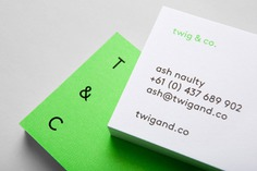 TWIG & Co. Identity - Mindsparkle Mag Mildred and Duck designed the identity for Twig & Co. – a Melbourne-based bespoke construction company. #logo #packaging #identity #branding #design #color #photography #graphic #design #gallery #blog #project #mindsparkle #mag #beautiful #portfolio #designer