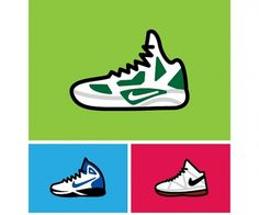 Harsky #robb #shoes #nike #illustration #harskamp